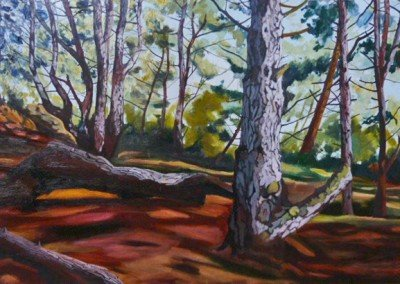 Norfolk landscape art online At Wells Claire Cansick Norfolk art