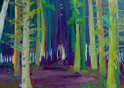 Claire Cansick Bacton Woods limited edition print