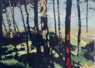 Norfolk art for sale landscape Holkham oil painting Norfolk