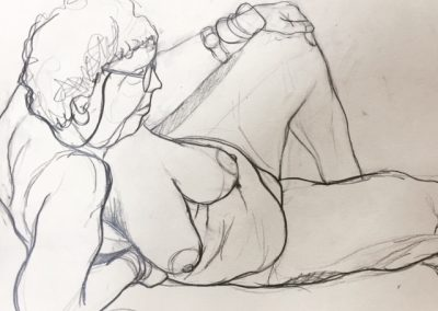 Norwich life drawing Claire Cansick