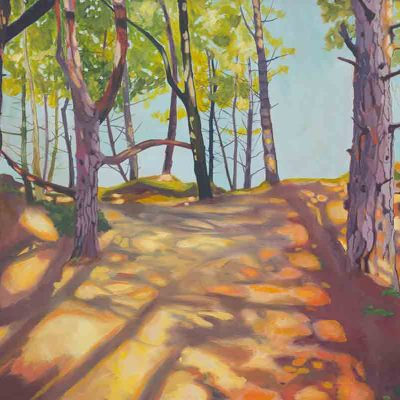 Wells Woods Limited Edition Print by Claire Cansick