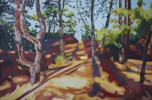 Wells Woods II Limited Edition Print by Claire Cansick