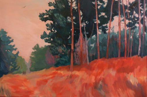 The Poachers landscape by Claire Cansick