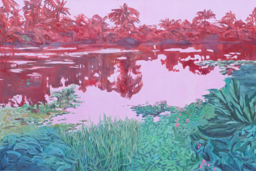Garuda Lagoon landscape by Claire Cansick