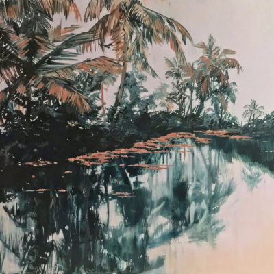 Kochi Lagoon by Claire Cansick
