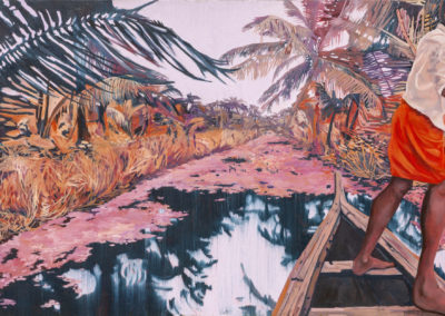 Backwater Dream - oil on canvas - 122 x 76 cm - 2018