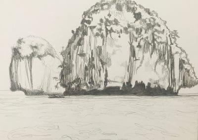 Floating Island drawing