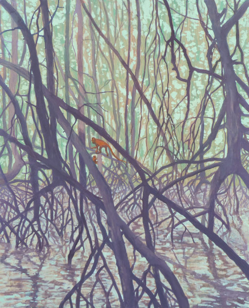 Mangrove Monkeys by Claire Cansick