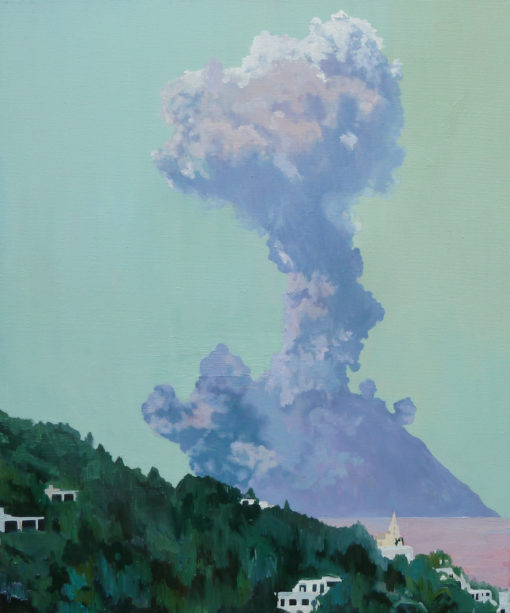 The Paroxysm of Stromboli painting by Claire Cansick