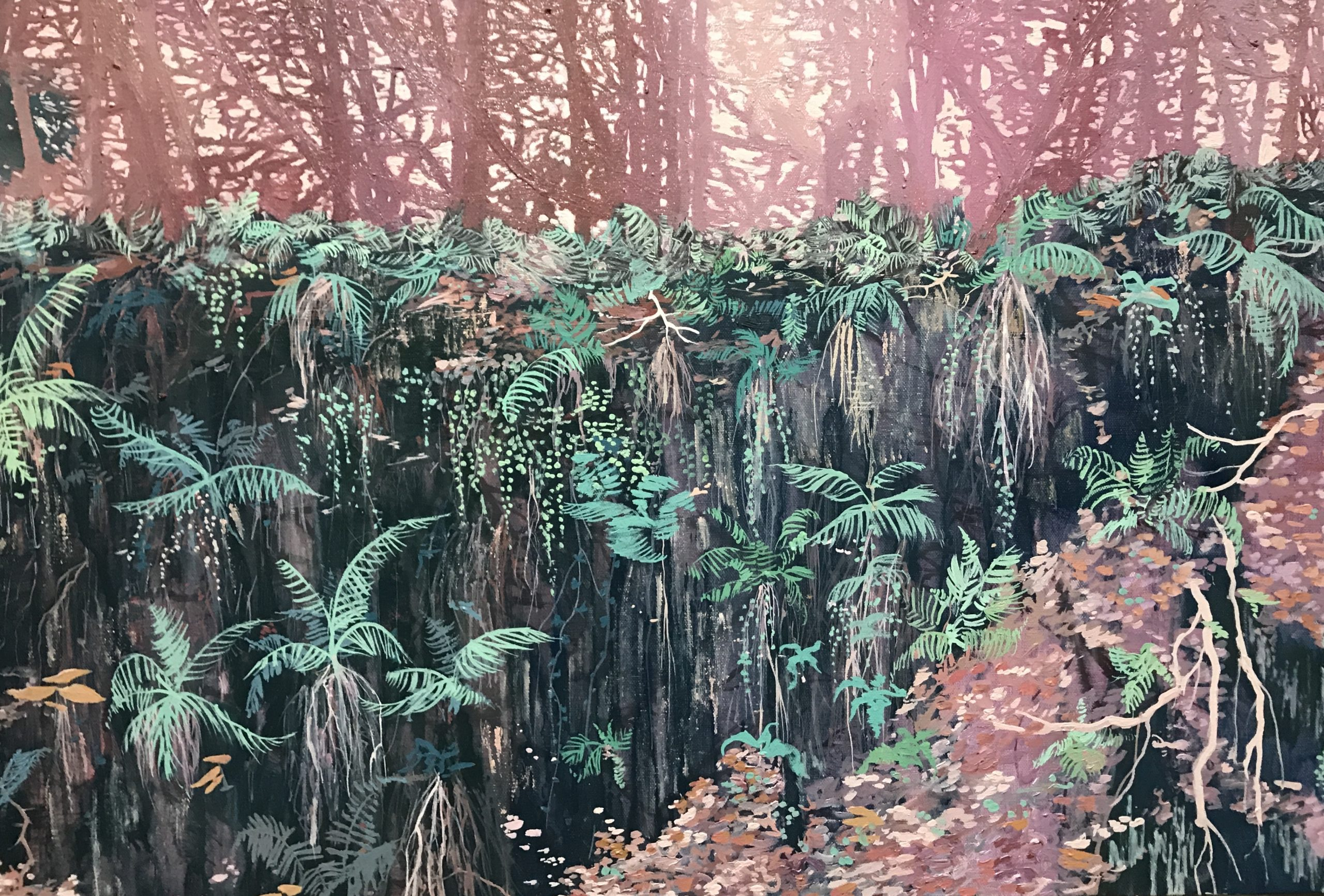 Culbone Woods landscape by Claire Cansick