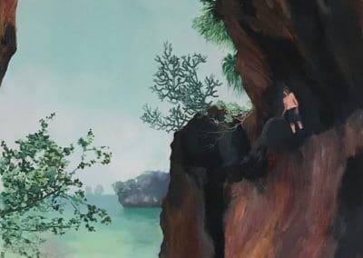 Thailand Krabi landscape painting