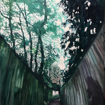 Paradise Path II painting by Claire cansick