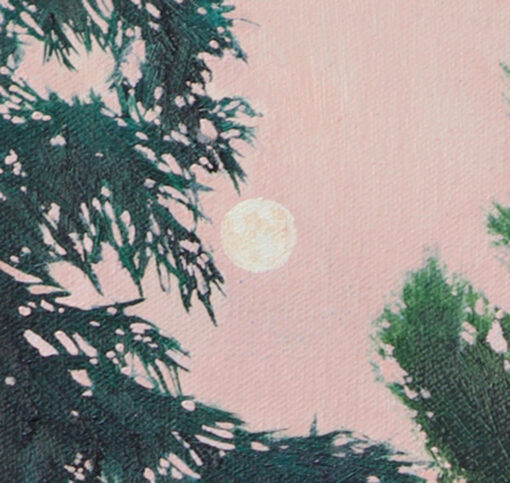 Strawberry Moon detail