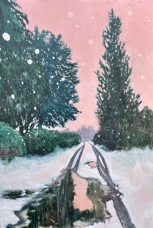 The Way We Never Go oil painting by Claire Cansick